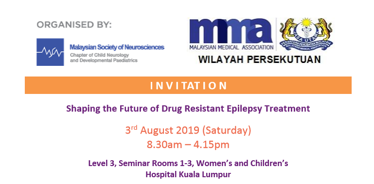 Shaping the Future of Drug Resistant Epilepsy Treatment 2019