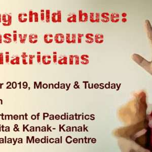 Handling child abuse: an intensive course for paediatricians